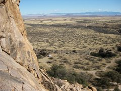 Rock Climbing Photo: Great views await you from Batline Dome. On a warm...
