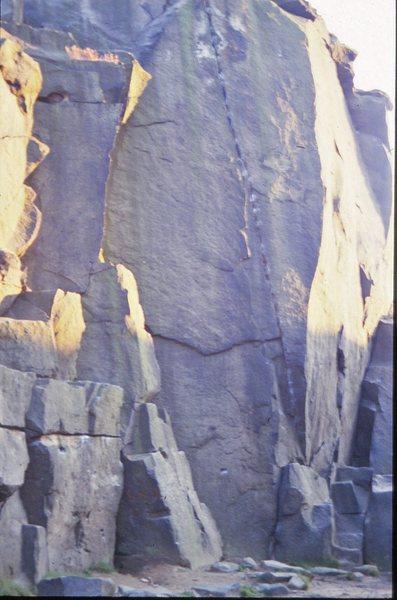 Wellington Crack, Ilkley Quarry
