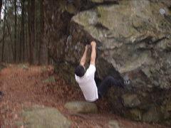 Rock Climbing Photo: Ben on Shelf Hunter.