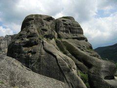 Rock Climbing Photo: The south side of Doupianifels.