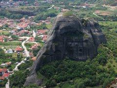 Rock Climbing Photo: East Ridge of Doupianifels (on the left skyline).