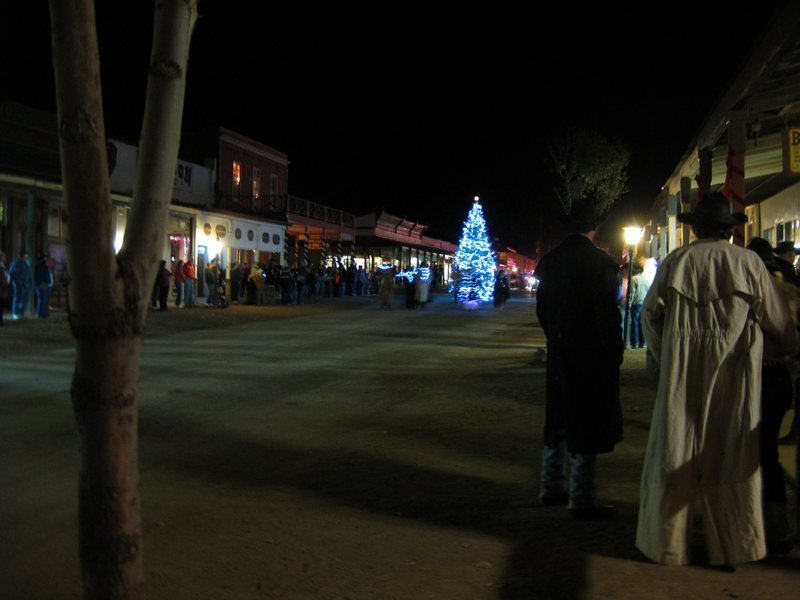Rock Climbing Photo: The small town Christmas parade in Tombstone, AZ. ...