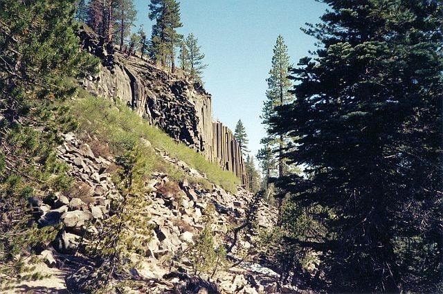 Rock Climbing Photo: Devils Postpile National Monument, Sierra Eastside