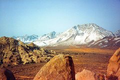 Rock Climbing Photo: Basin Mountain from the Buttermilks, Sierra Eastsi...