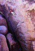 Rock Climbing Photo: John Bachar soloing Father Figure (5.12d), Joshua ...