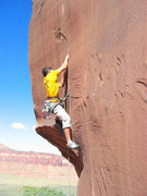 Rock Climbing Photo: Turning the roof, this is surprisingly easy compar...