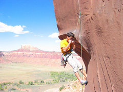 Rock Climbing Photo: Trying to regain feeling by sucking thumbs on Slic...