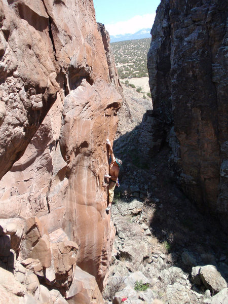 John Kear on the lower crux of Ventarete