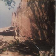 Rock Climbing Photo: The threat of being impaled on lead added several ...