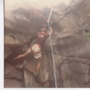 Rock Climbing Photo: Just leaving the awesome knee-lock.  Whillians Sit...
