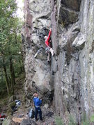 Rock Climbing Photo: Gene Vallee (Utah) On his Holidays  Photo P.Ross