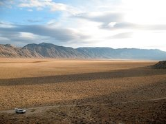 Rock Climbing Photo: The big empty, Deep Springs Valley