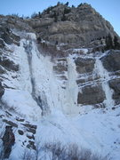 Rock Climbing Photo: Bridal Veil Left, Bridal Veil Right and White Nigh...