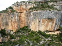 """Rock Climbing Photo: Unknown climber on """"Draculin"""", 7a+, on t..."""
