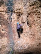 """Rock Climbing Photo: Just above the bouldery start of """"Memoria His..."""