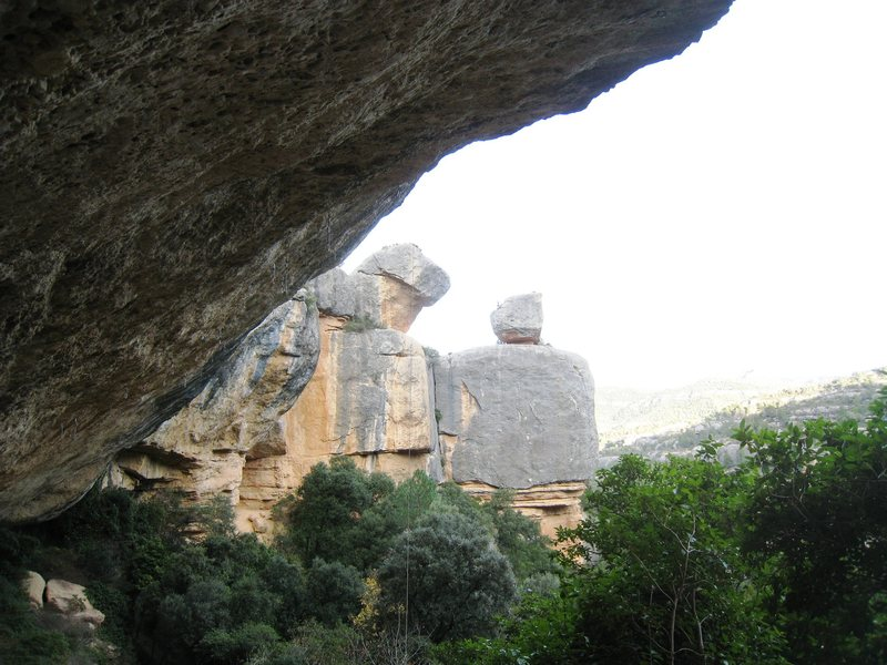 """Rock Climbing Photo: A profile of the """"Victimes del Futur"""" ca..."""