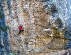 "Rock Climbing Photo: On-sighting the stellar ""Magic Festival""..."