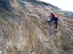 Rock Climbing Photo: Finishing up the steep start of Magic Festival.