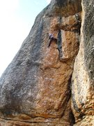 "Rock Climbing Photo: Enjoying the excellent ""Chachi qui Chapi&quot..."