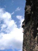 Rock Climbing Photo: Second Pitch.Photo Lee Sheard