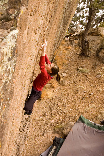 Rock Climbing Photo: Page on the lower but of the problem