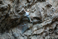 Rock Climbing Photo: Jenna making big moves (hey they are all big when ...