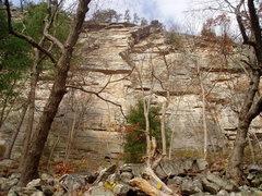 Rock Climbing Photo: Ok view of 2nd pitch.