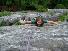 Rock Climbing Photo: 5.3 can't get much better!