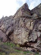 Rock Climbing Photo: Looking up T2.