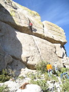"Rock Climbing Photo: Jesse Schults getting the ""coveted"" seco..."