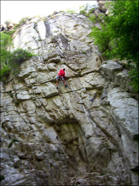 Rock Climbing Photo: The Fortress