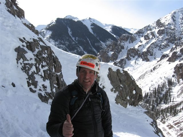 Rock Climbing Photo: me on stairway