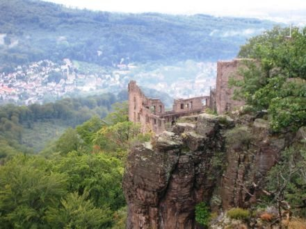 Rock Climbing Photo: You may see Baden-Baden below the crag.