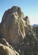 Rock Climbing Photo: Two Climbers on the second pitch of End Game. Phot...