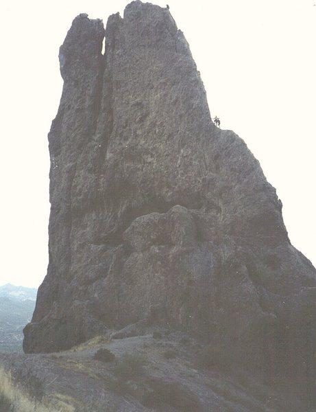 Climbers on the Hand