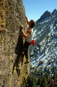 Rock Climbing Photo: Jim Surette - Rock & Roll - Flatirons, 1988.