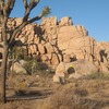 The Unmentionable from the trail, Joshua Tree NP<br>