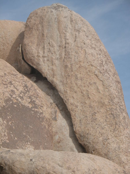 Hidden Arch (5.11d), Joshua Tree NP<br>