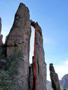 Rock Climbing Photo: Touching the Coop