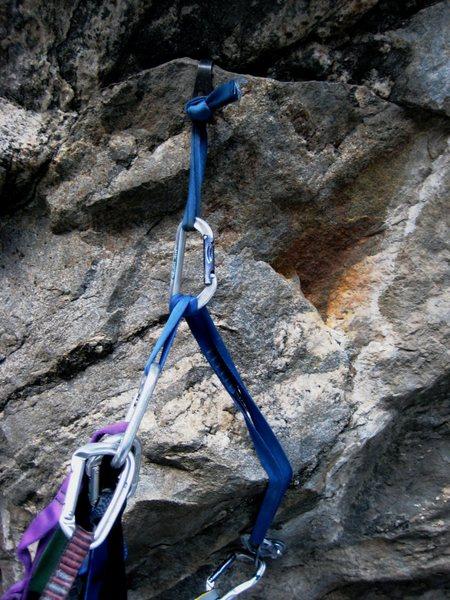 Rock Climbing Photo: roof hook opposition...