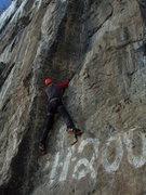 Rock Climbing Photo: Dave Costello on Strike Three.