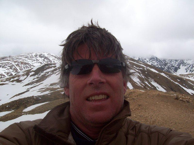 Dawn Patrol on top of Peak 9 above Breck.