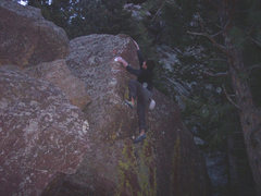 Rock Climbing Photo: The Dank Arete.