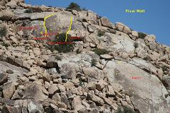 Rock Climbing Photo: Pixar Wall