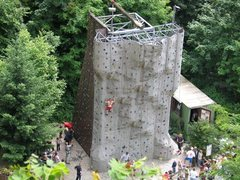 Rock Climbing Photo: This is the climbing tower at Jacobswand, courtesy...