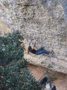 Rock Climbing Photo: Spanish Steven Segal starts up the excellent &quot...
