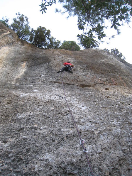 Rock Climbing Photo: Doesn't even look fun from the ground.