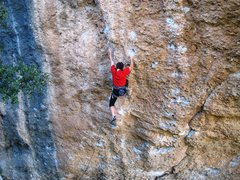 Rock Climbing Photo: Magic Festival climbs on mostly large, incut jugs,...