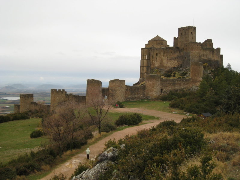 Castillo de Loarre is a must-see for anyone visiting Rodellar or Riglos.