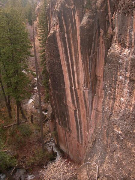 gorgeous rock in Mill Creek